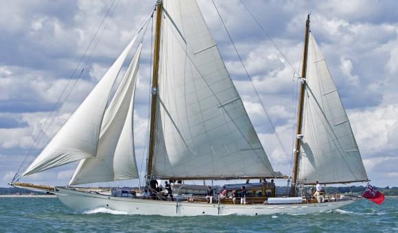 Classic Yacht Charter, Halcyon