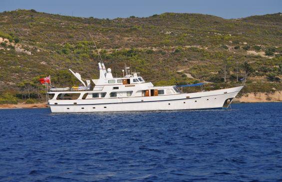 Classic Yacht Charter, MILEANNA K