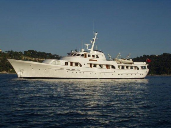 Secret life classic yacht sales for Vintage motor yachts for sale